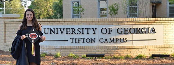 Graduate on the UGA Tifton campus
