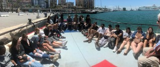 students-on-boat-spain